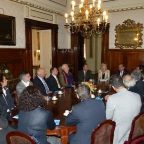 El Ministro de Ciencia Lino Barañao se reúne en Italia con investigadores y científicos argentinos en el exterior