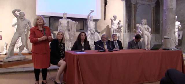 """Ceremonia de inauguración del Centro Interuniversitario """"Camilo Dagum"""" en Pisa"""