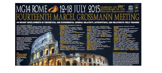 El doctor Carlos R. Argüelles participará en Roma a la «Fourteenth Marcel Grossmann Meeting»