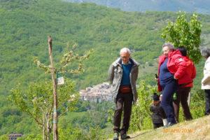 Visita al Giardino della Memoria del Sisma del 2009 (Abbazia S. Giovanni, Lucoli AQ)