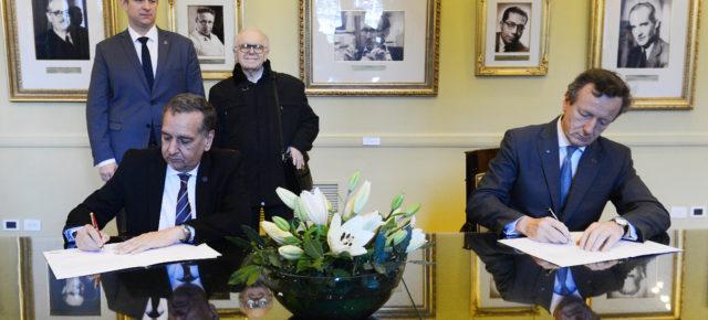 Argentina e Italia intensificarán la cooperación bilateral en desarrollo espacial