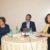 Ministro Consigliere Sylvia Wohlers, Incaricato d'Affari del Guatemala; Dottor Fernando Quevedo, Direttore dell'ICTP e la Prof.ssa Veronica Roldán, Docente dell'Università degli Studi Roma Tre