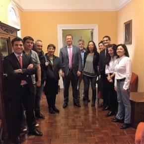 El Secretario de Articulación Científico Tecnológica Lic. Agustín Campero se reúne con la RCAI en la Embajada Argentina de Roma