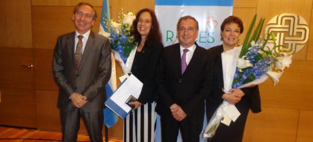 Alicia Acosta y Beti Piotto recibieron el premio RAICES