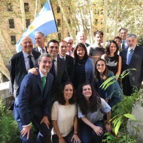 Interacciones y colaboraciones científicas entre Italia y Argentina