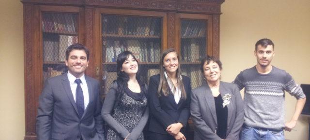 Reunión de coordinadores de la RCAI en la Embajada Argentina con Alit Fasce, de B.AR Europe (Bioeconomy Argentinian Program for Europe)