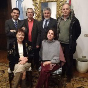 Reunión de la RCAI con el Agregado Científico de la Embajada de Italia en Buenos Aires José Kenny