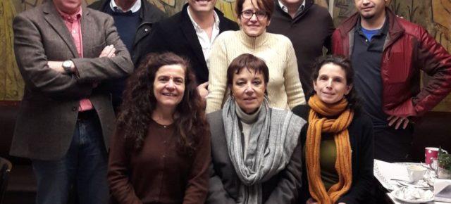 Funcionarios del Ministerio de Ciencia, Tecnología e Innovación Productiva se reunieron con miembros de la RCAI