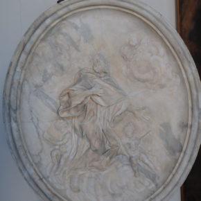 Restauro de una una obra de Francesco Maria Schiaffino en Génova por NIelsen Restauri