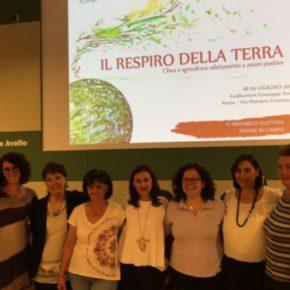 """Asamblea de """"Donne in Campo"""" de la Confederación Italiana de la Agricultura.  Roma 18 y 19 de junio 2018"""
