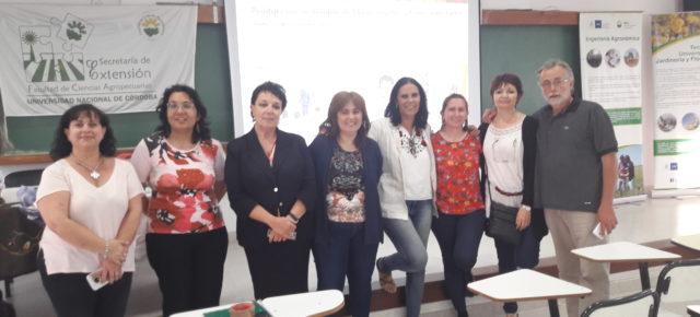 UNC Argentina - ISPRA Italia: encuentro sobre producción eco-compatible de fibra de fuentes naturales