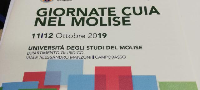 JORNADAS CUIA 2019 UNIVERSIDAD DEL MOLISE