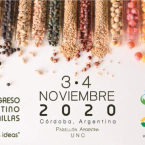 CONGRESO ARGENTINO DE SEMILLAS  Córdoba  3 y 4 de noviembre 2020