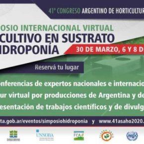 Simposio Internacional Virtual de Cultivo en sustrato e hidroponía