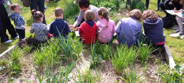 La primavera fue festejada en el «Parque del Appia Antica» con muchas actividades creativas.