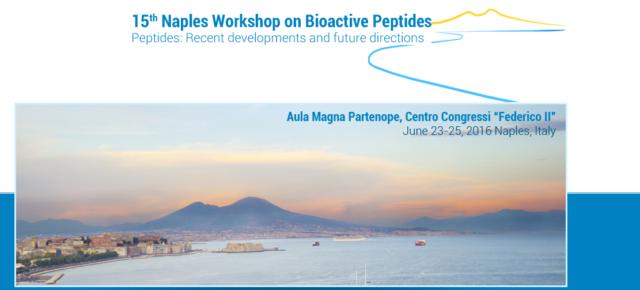 La doctora Mariana Gallo participó al «15th International Workshop on Bioactive Peptides» en Nápoles