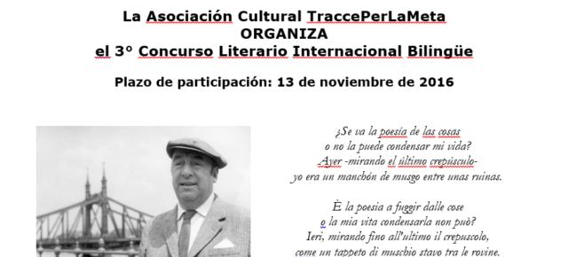 3° Concurso Literario Internacional Bilingüe