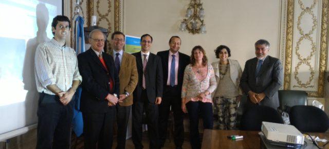 Miembros de la RCAI se reúnen con Universidades de Argentina en Buenos Aires