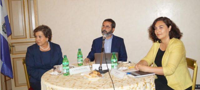 La RCAI presente a la presentación del ciclo «Café de las Ciencias» en el Institituto Italo-Latinoamericano de Roma.