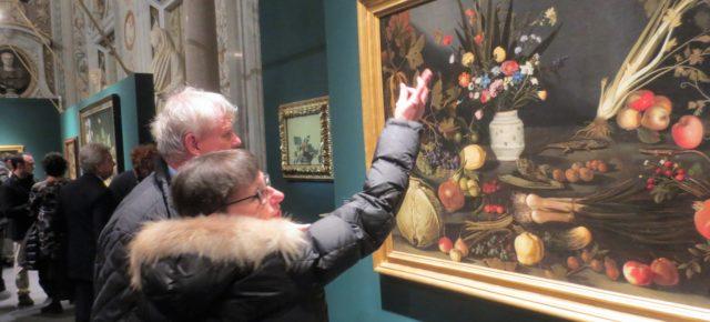 Un argentino entre las frutas de Caravaggio