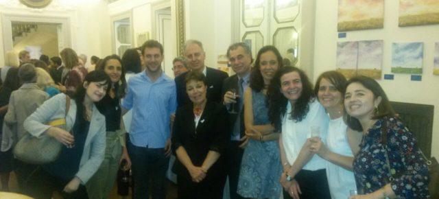 La RCAI participó en los festejos del 25 de mayo en la Embajada Argentina