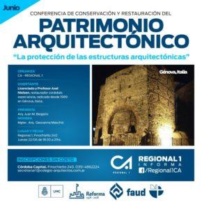 Conferencia de Axel Nielsen sobre Patrimonio Arquitectónico en la ciudad de Córdoba