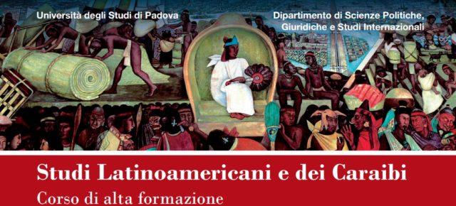 Estudios Latinoamericanos y del Caribe (Università di Padova): preinscripción hasta el 30/3