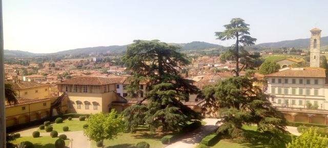 Visita de la RCAI a Poggio Caiano