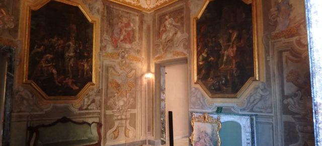Axel Nielsen restaura chimenea del 1700  en el Museo de Palazzo Rosso (Génova)