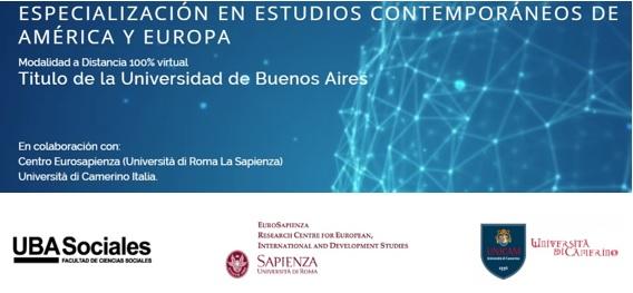 POSGRADO EN ESTUDIOS CONTEMPORÁNEOS AMÉRICA-EUROPA (UBA-SAPIENZA-CAMERINO)