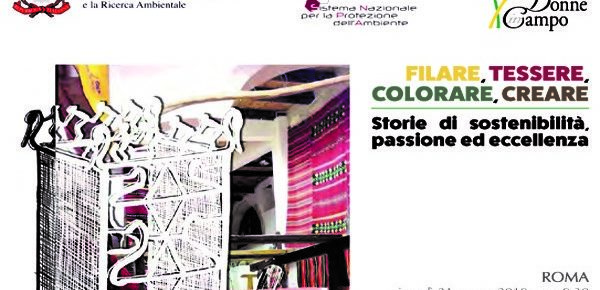Fibras y colores que hacen bien al ambiente.  El 21 de marzo se presentó en Roma el estudio conjunto ISPRA-Donne in Campo de la Confederación Italiana de la Agricultura