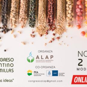 Sexta Circular del 1er Congreso Argentino de Semillas (Córdoba 3 y 4 de noviembre 2020)